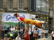 Fringe festival. Edinburgh summer FRINGE festival, Scotland Royalty Free Stock Images