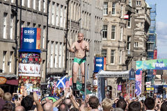 Fringe festival edinburgh Royalty Free Stock Image