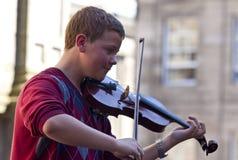 Fringe festival edinburgh Stock Images