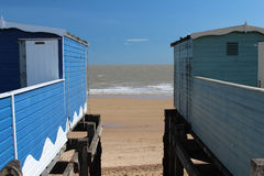 Frinton-op-overzees, Essex, het UK Stock Foto