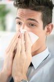 Frio e gripe Fotos de Stock Royalty Free