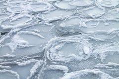 Frio extremo da tampa do gelo Imagem de Stock