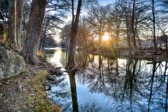 Frio rzeka, Teksas Obrazy Royalty Free