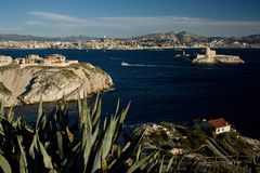 Frioul Islands Stock Image