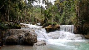 Fripes-Kwang-SI cascade, Laos Photo libre de droits