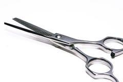 frisören scissors specialarbete Arkivbilder