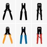 Frisadores ilustração stock