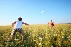 Frisbee Lizenzfreies Stockfoto