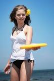 Frisbee imagem de stock