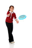 Frisbee Catch Stock Photo