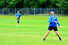 Frisbee Championships Royalty Free Stock Photo