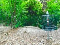 Frisbee golf Obrazy Royalty Free