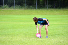 Frisbee-Meisterschaften Stockbild