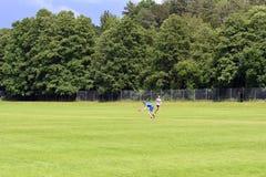 Frisbee-Meisterschaften Lizenzfreies Stockfoto
