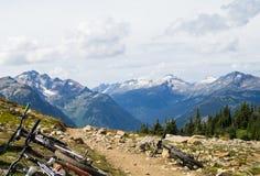 Frisby Ridge trail Royalty Free Stock Photo