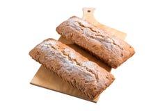 Frisch gebackener Kuchen lokalisiert Lizenzfreie Stockbilder