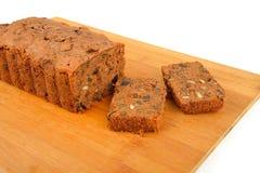 Frisch gebackener Pflaumen-Kuchen Lizenzfreies Stockfoto