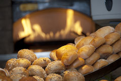 Frisch gebackenes Brot lizenzfreies stockbild