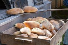 Frisch gebackenes Brot Lizenzfreie Stockfotografie