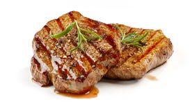 Frisch gegrilltes Steak lizenzfreie stockfotos