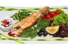 Frisch gekochte Fische Lizenzfreie Stockfotos