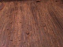 Frisch geschmolzene Schokoladenblätter Stockbilder