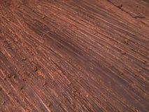 Frisch geschmolzene Schokoladenblätter Lizenzfreies Stockbild