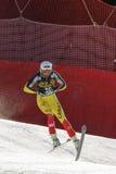 FRISCH Jeffrey στο αλπικό Παγκόσμιο Κύπελλο σκι Audi FIS - ατόμων προς τα κάτω Στοκ Εικόνα