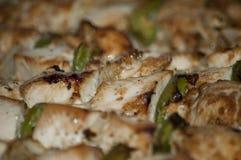 Frisch Kebab mit Grüns Lizenzfreies Stockfoto