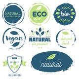 Frisch, organisch, geben Gluten frei, Bio 100%, erstklassige Qualität, am Ort Stockfotografie
