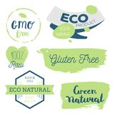 Frisch, organisch, geben Gluten frei, Bio 100%, erstklassige Qualität, am Ort Lizenzfreie Stockfotografie