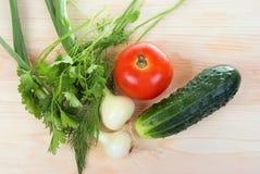 Frisch und Gemüse lizenzfreies stockbild