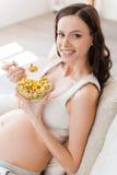 Frisch und gesunde Ernährung für mein Baby Lizenzfreie Stockfotos