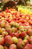 Frische Äpfel Stockbild