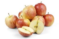Frische Äpfel lokalisiert Stockfotografie