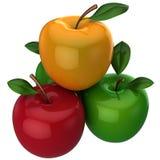 Frische Äpfel (Mieten) Lizenzfreies Stockfoto