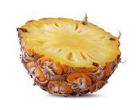 Frische Ananas lokalisiert auf Weiß Lizenzfreies Stockbild