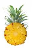 Frische Ananas lokalisiert auf weißem Hintergrund Stockbilder