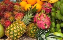 Frische asiatische Früchte lizenzfreies stockfoto
