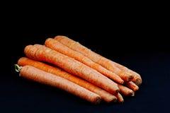 Frische ausgewählte Karotten Lizenzfreies Stockbild
