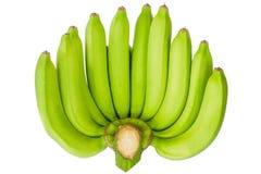 Frische Bananen auf hölzernem Hintergrund im Obstmarkt, im gesunden Lebensmittel, in den Bananen reich in den Vitaminen, im gesun Stockbild