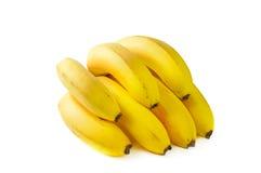 Frische Bananen des Zweigs Stockfotos