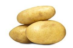 Frische Bauernhof-Kartoffeln Stockfoto