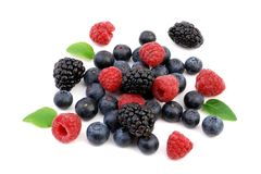 Frische Beeren stockfotos