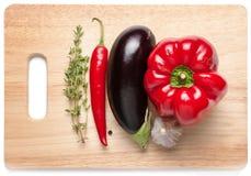 Frische Bestandteile für das Kochen Lizenzfreie Stockfotografie