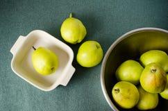 Frische Birnenfrucht Lizenzfreie Stockfotos