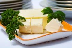 Frische Butter Lizenzfreie Stockfotos