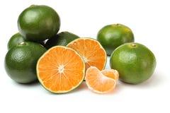 Frische chinesische Orangen Lizenzfreies Stockbild