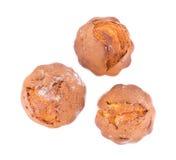 Frische Chipmuffins Stockfotografie