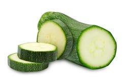Frische cutted Zucchini Lizenzfreies Stockbild